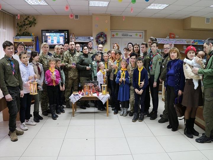 Вифлеємський Вогонь Миру прибув до Краматорська!